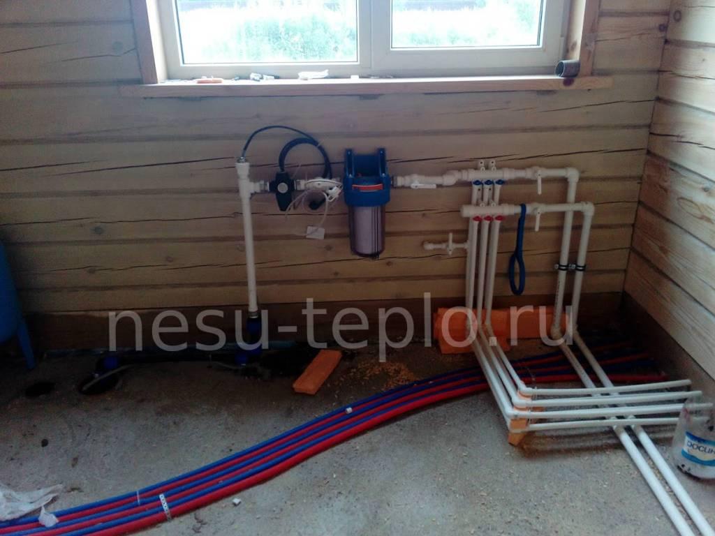 Подводка и разведение воды по дому из колодца