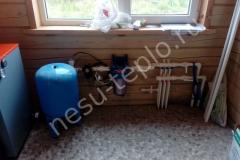 Фильтр ХВС и коллектор водоснабжения