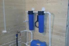 Ввод воды в дом и система фильтрации