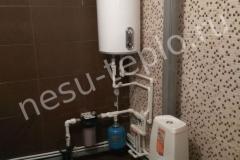 Ввод воды в дом и наружная разводка труб из полипропилена