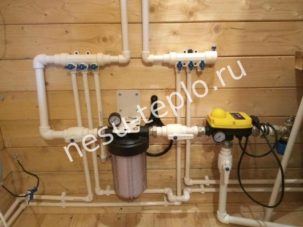 Автоматика для скважинного насоса и фильтр
