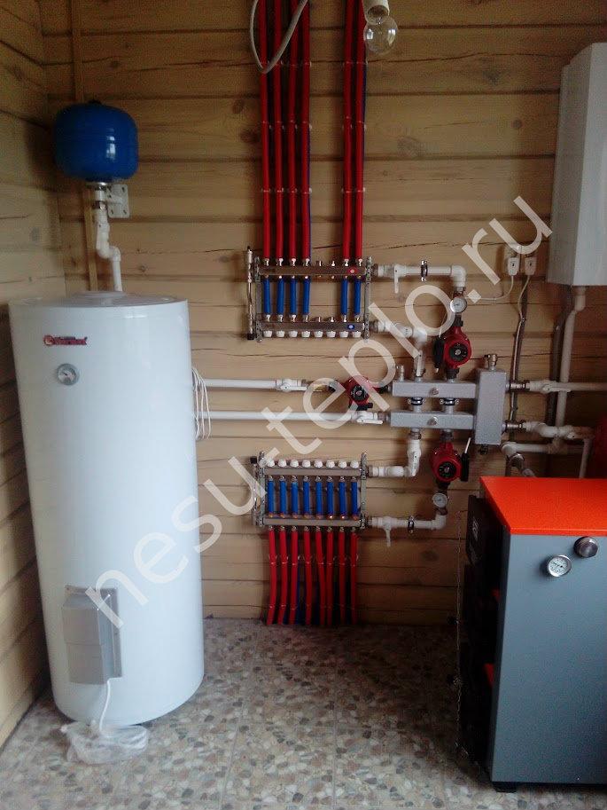 Электрокотел для теплого водяного пола своими руками 80