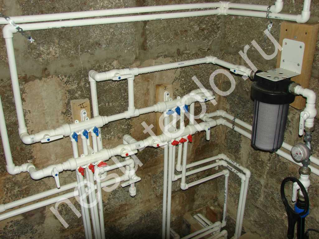 Котельная с двухконтурным газовым котлом и резервным электрич. бойлером