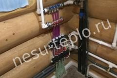 Теплый водяной пол от электрокотла, бойлер и разводка воды
