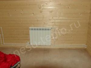 Наружняя разводка отопления в загородном доме 1 на сайте nesu-teplo.ru