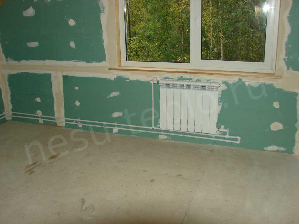 Наружняя разводка отопления в загородном доме 2 на сайте nesu-teplo.ru