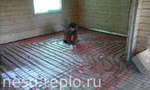 Водяной теплый пол в доме из бруса - 2 на сайте nesu-teplo.ru