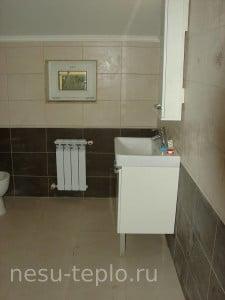 Ванная комната в загородном доме на сайте nesu-teplo.ru
