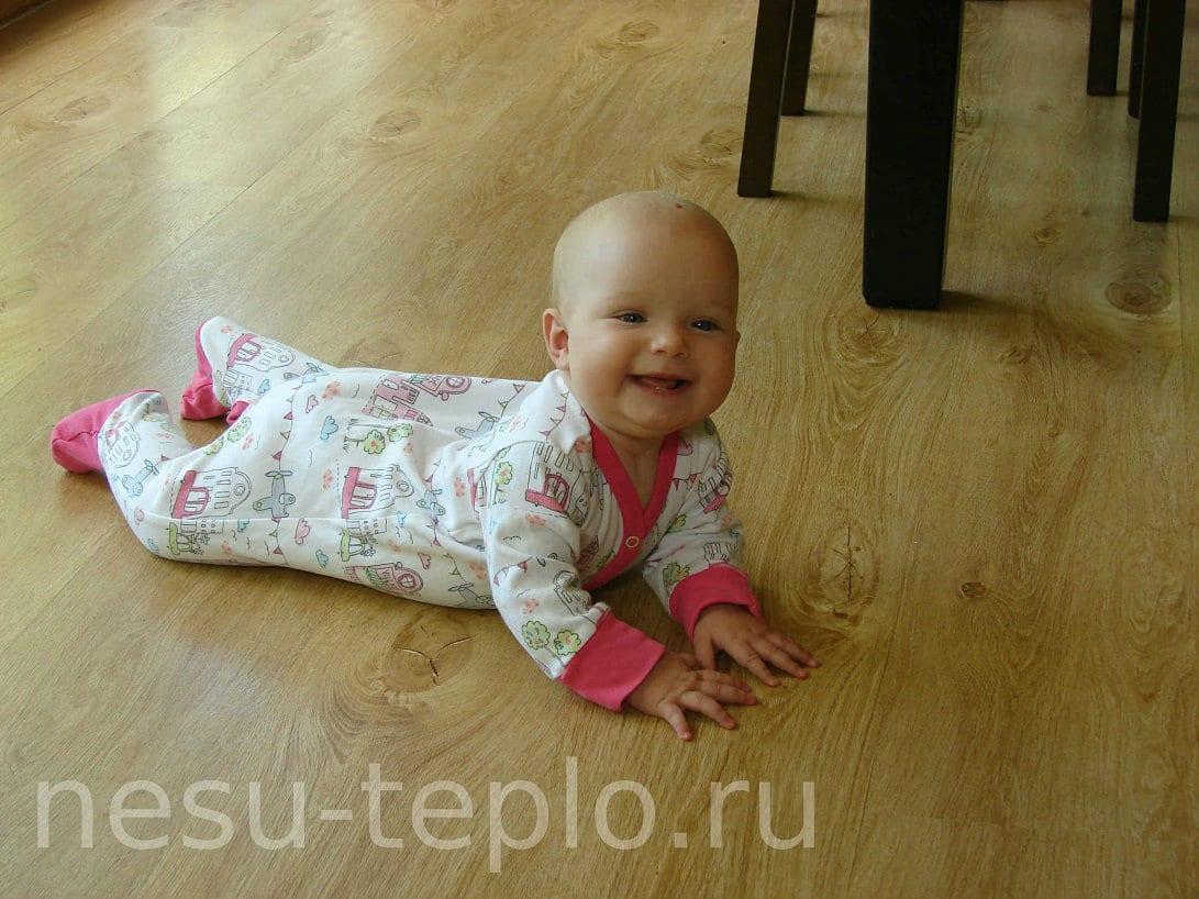 водяной теплый пол под ламинат на сайте nesu-teplo.ru