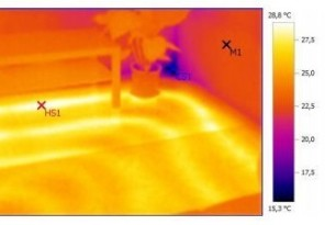 Проверка тепловизором — экономия на отоплении дома.