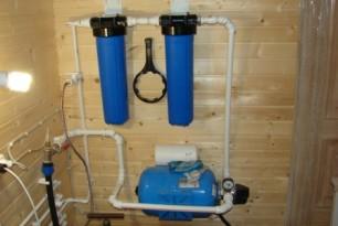 Зимний и летний водопровод. Подготовка к зиме