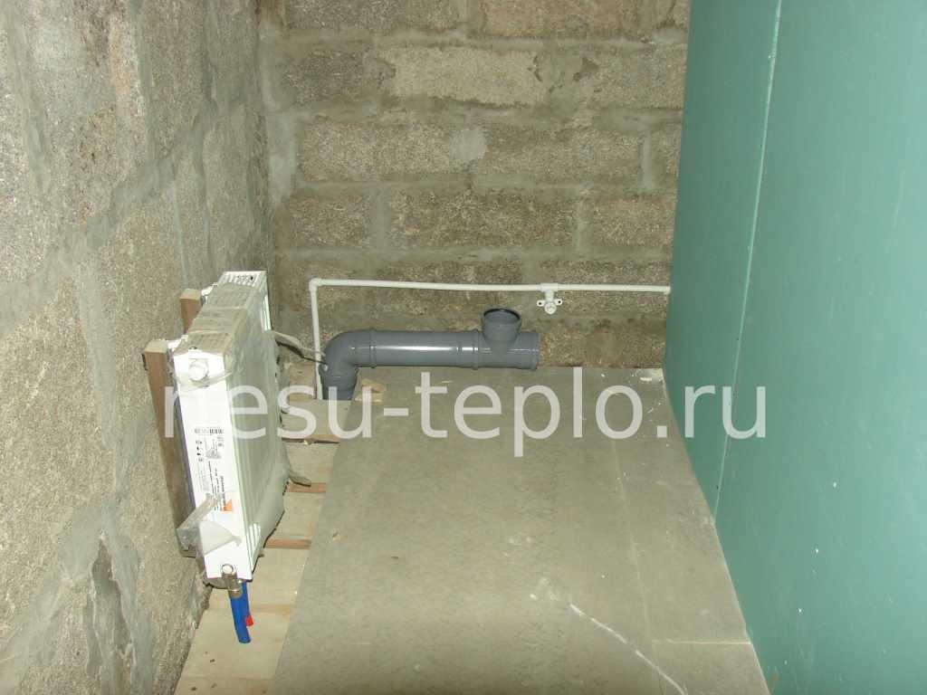 Радиатор Вerger с нижним подключением